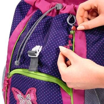 Anhänger mit Schmetterling-Motiv zur Anbringung am KID Rucksack