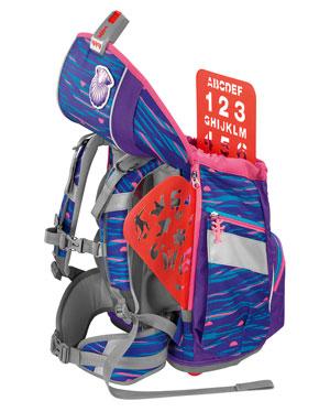 Umbau des 2IN1 PLUS vom Schulranzen zum Schulrucksack