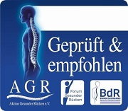 "AGR ""Geprüft & empfohlen""-Siegel"