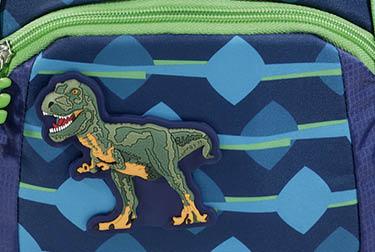 """Fronttasche mit Motiv des KID Schleich Dinosaurs """"T-Rex"""""""