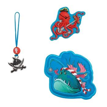 """MAGIC MAGS Spiegelburg Capt´n Sharky, """"Leuchtfisch"""", bestehend aus 2 Motiven und 1 Anhänger"""