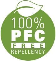 Siegel 100% PFC-freie Imprägnierung
