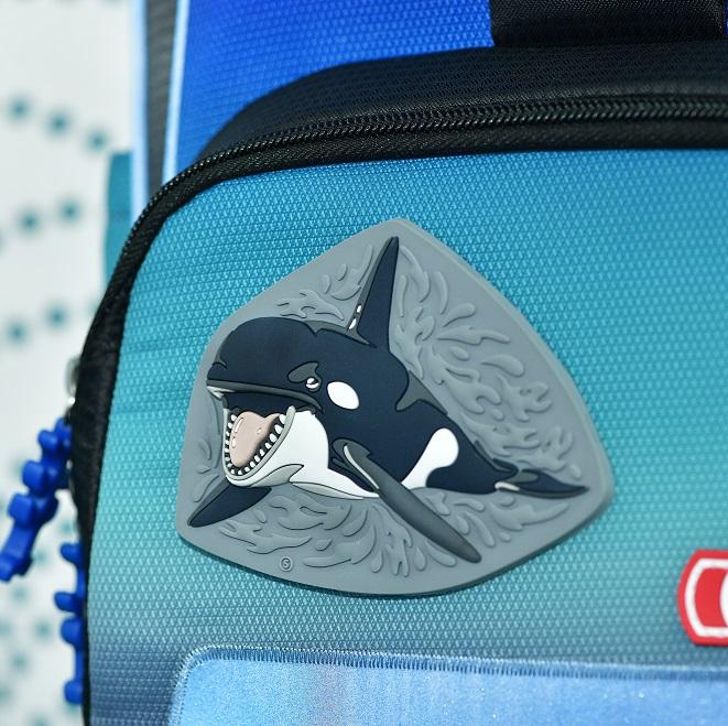 Schulranzen mit Orca-Motiv aus Schleich-Themenwelt