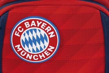 """Fronttasche mit Motiv des KID FC Bayern """"Mia san Mia"""""""