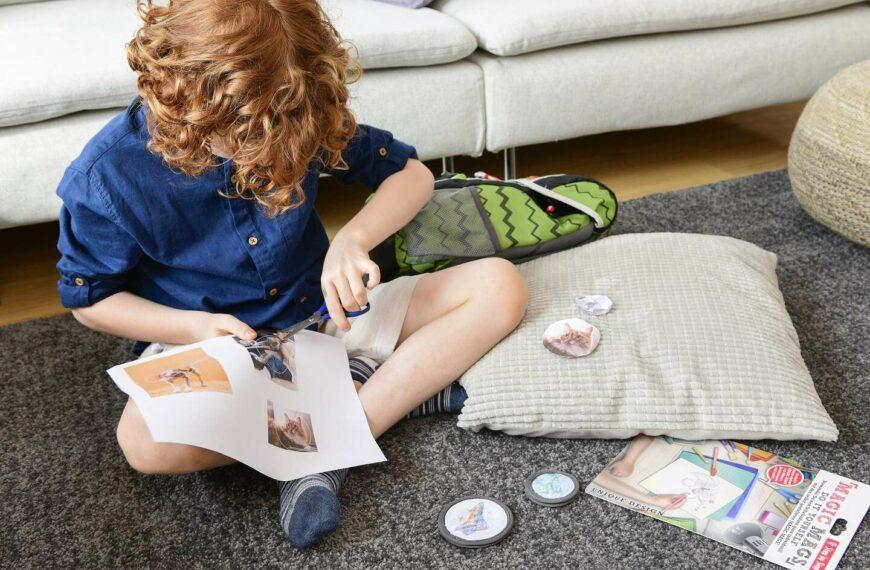 Schulranzen selbst gestalten mit den MAGIC MAGS DIY
