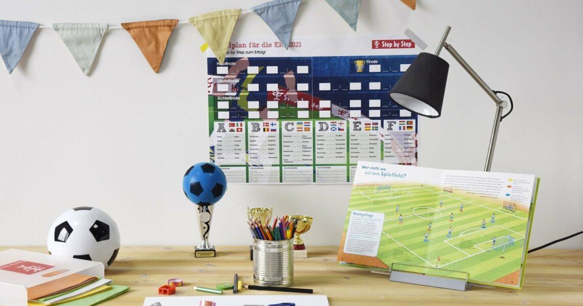 EM-Spielplan für das Kinderzimmer